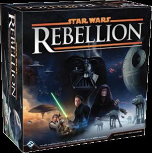 Rebelie ve světě Star Wars, aneb galaxie na desce